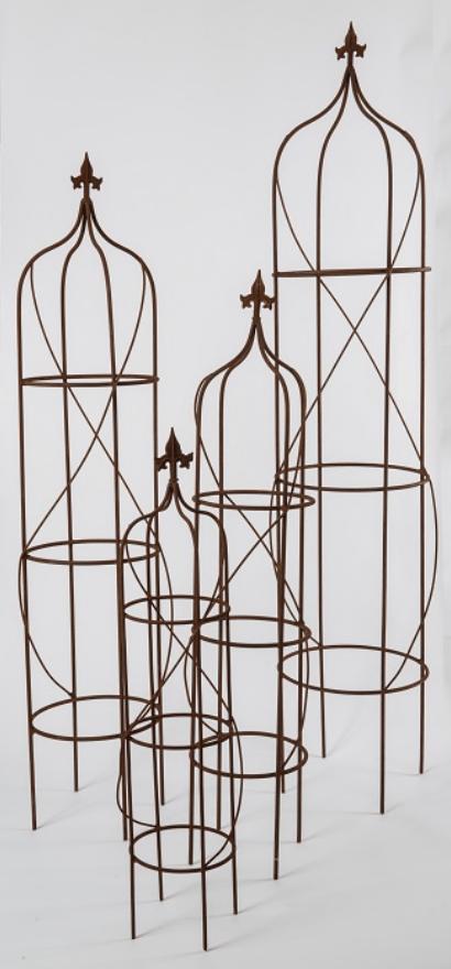 Image of Rusted Garden Obelisk