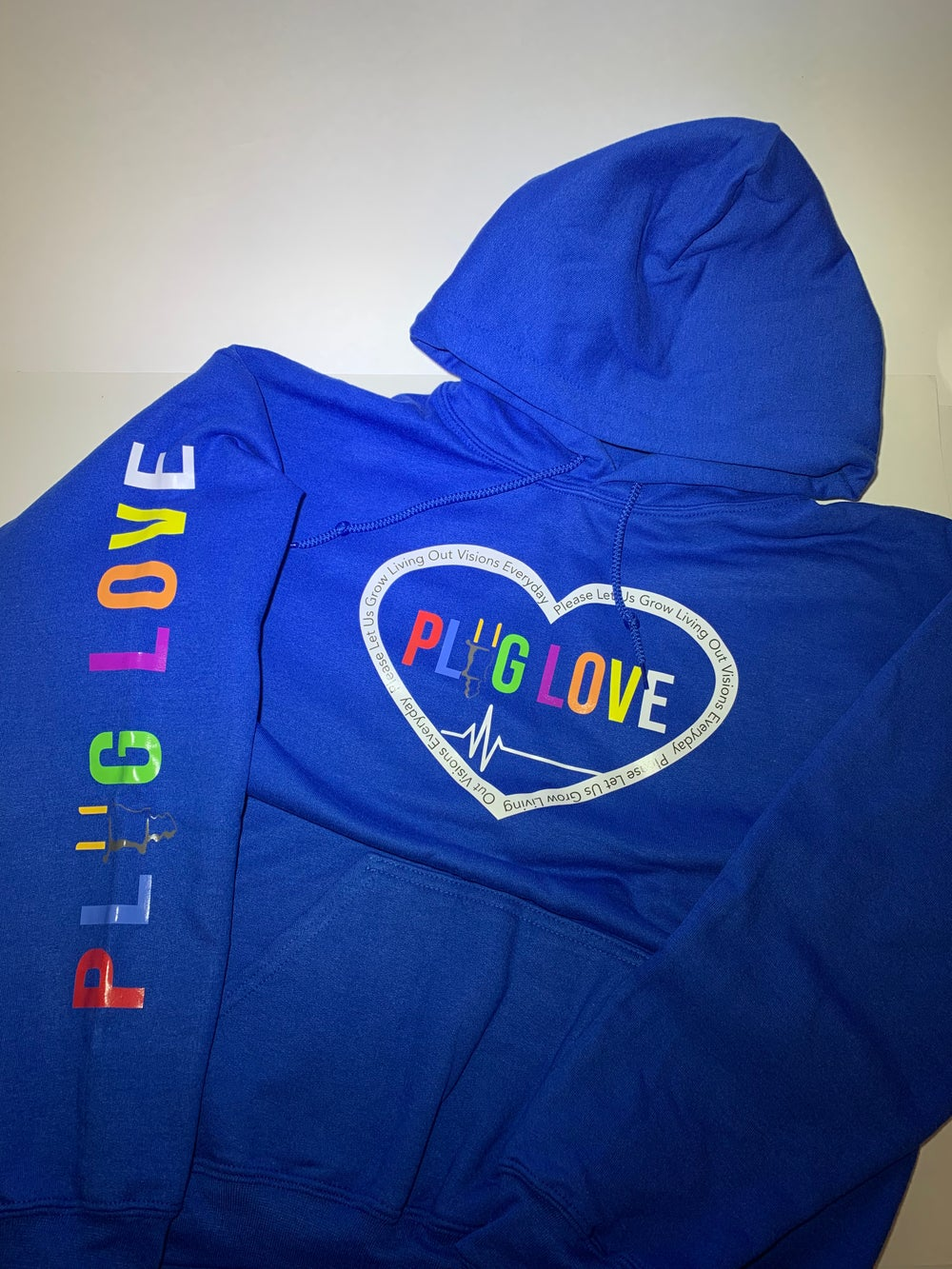 Image Of Blue Plug Love Pullover
