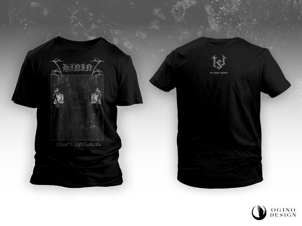 "Image of PRE-ORDER SHINING ""Submit To Self-Destruction 2019"" T-SHIRT"