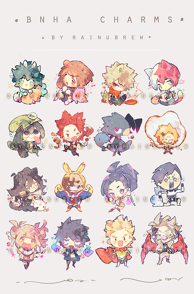 Image of BNHA | 2 inch charms