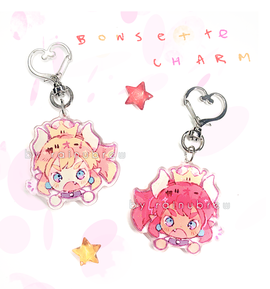 Image of bowsette | 2 inch charms