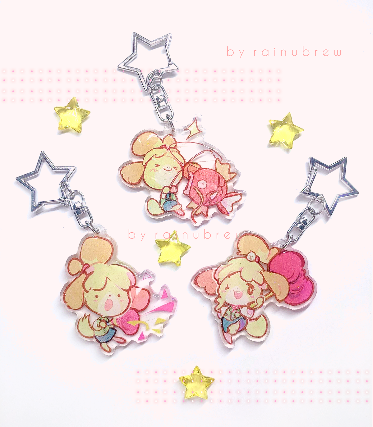 Image of Isabelle Smash | 2 inch charms