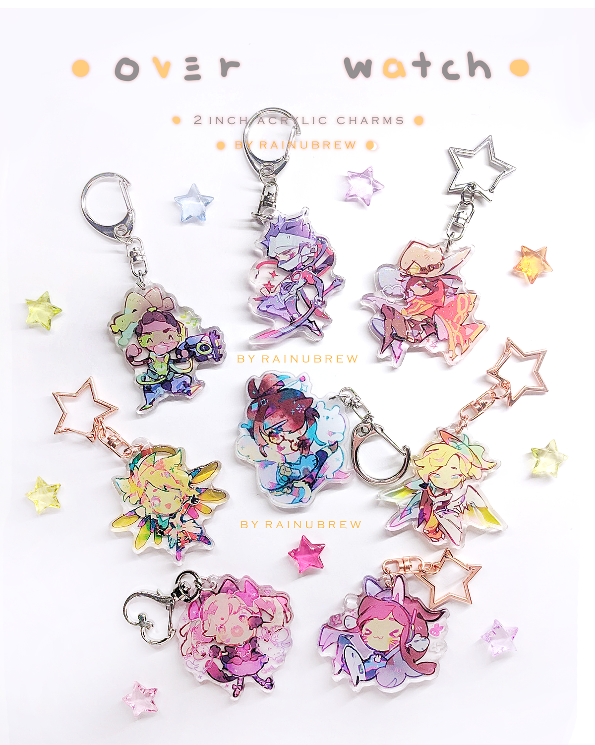 Image of Overwatch | 2 inch charms