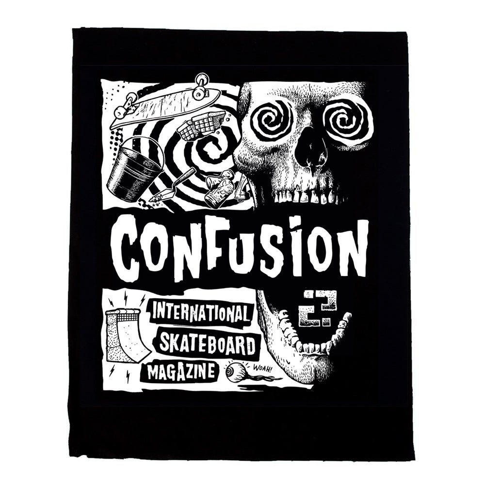 Image of VERTIGO - Confusion back patch