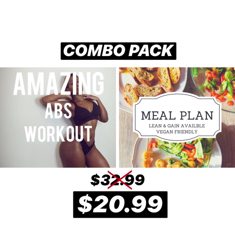 Image of COMBO PACK (AB BLAST & LEAN MEAL GUIDE