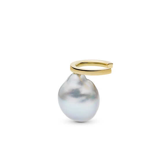 Image of Affinity Pearl Cuff, 18K yellow gold