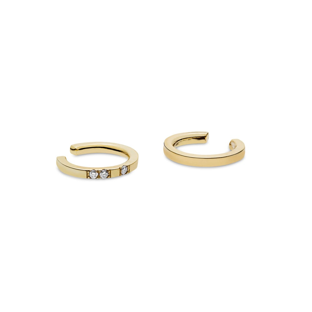 Image of Affinity Earcuff, 18K yellow gold