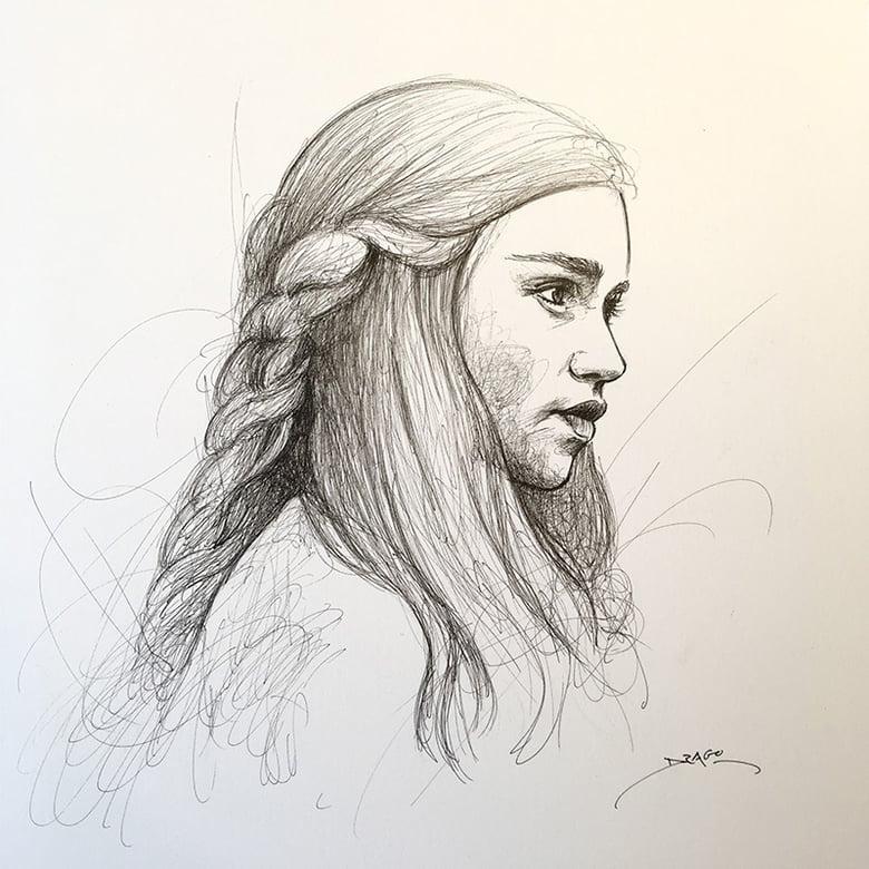 Image of Emilia Clarke Doodle