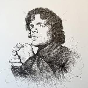 Image of Peter Dinklage Doodle