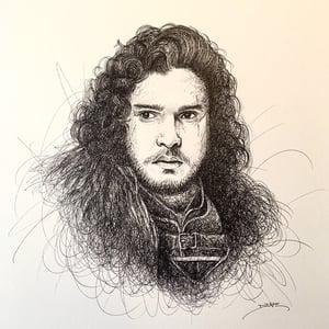 Image of Kit Harington Doodle