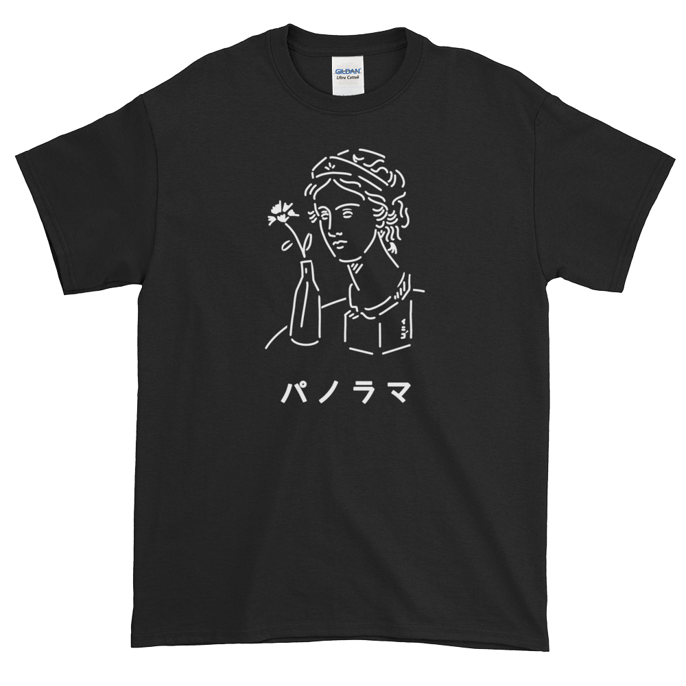 Image of PANORAMA (パノラマ) BLACK / WHITE T