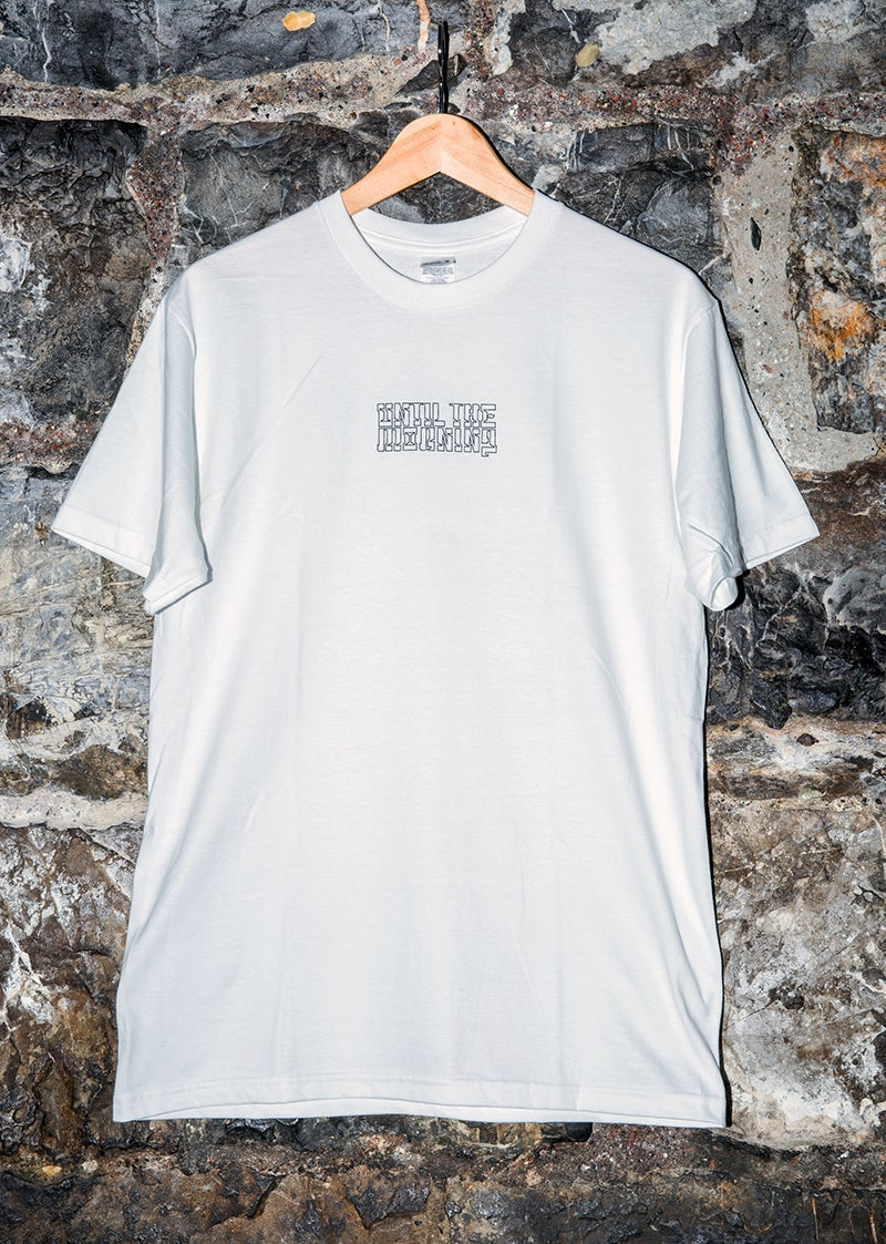 "Image of T-shirt ""Until the Morning"" // WHITE"
