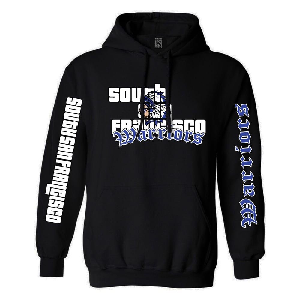 Image of SSF Warriors GTA Hoodie (Black)