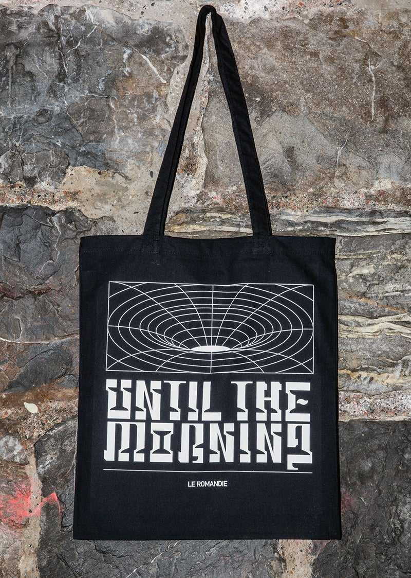 "Image of Tote bag ""Until the Morning"" // BLACK"