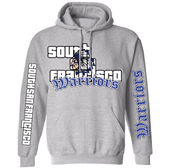 Image of SSF Warriors GTA Hoodie (Grey)