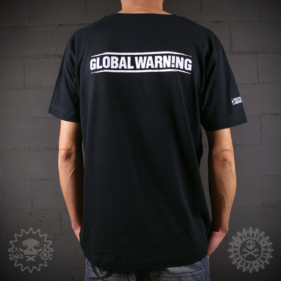 Image of T-SHIRT GLOBAL WARN!NG