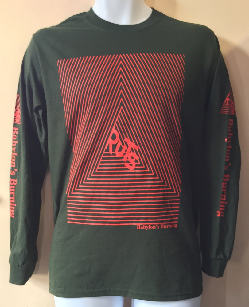 Image of Ruts DC Babylon's Burning Long Sleeve Shirt