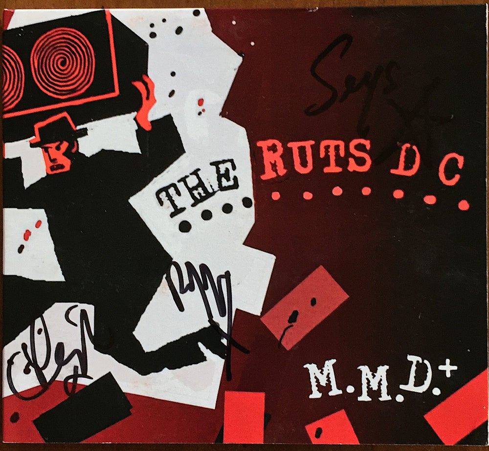 Image of RUTS DC 'Music Must Destroy' CD Album