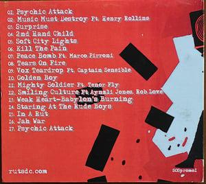 Image of RUTS DC 'Music Must Destroy' CD Album