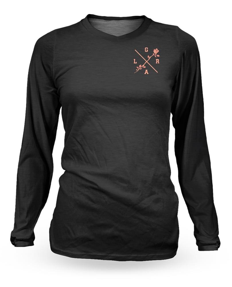 Image of Women's Rose Black Jersey