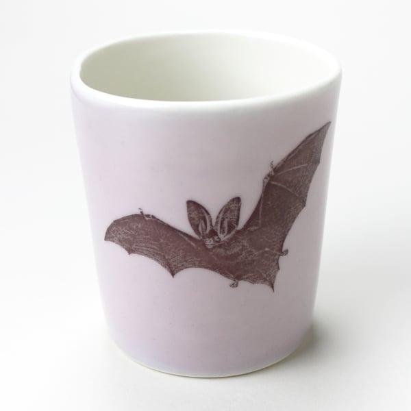 Image of 16oz tumbler with bat, lilac