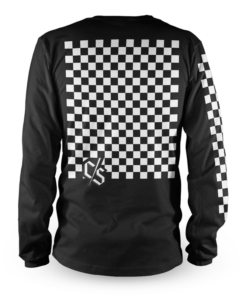 Image of Check Black Jersey