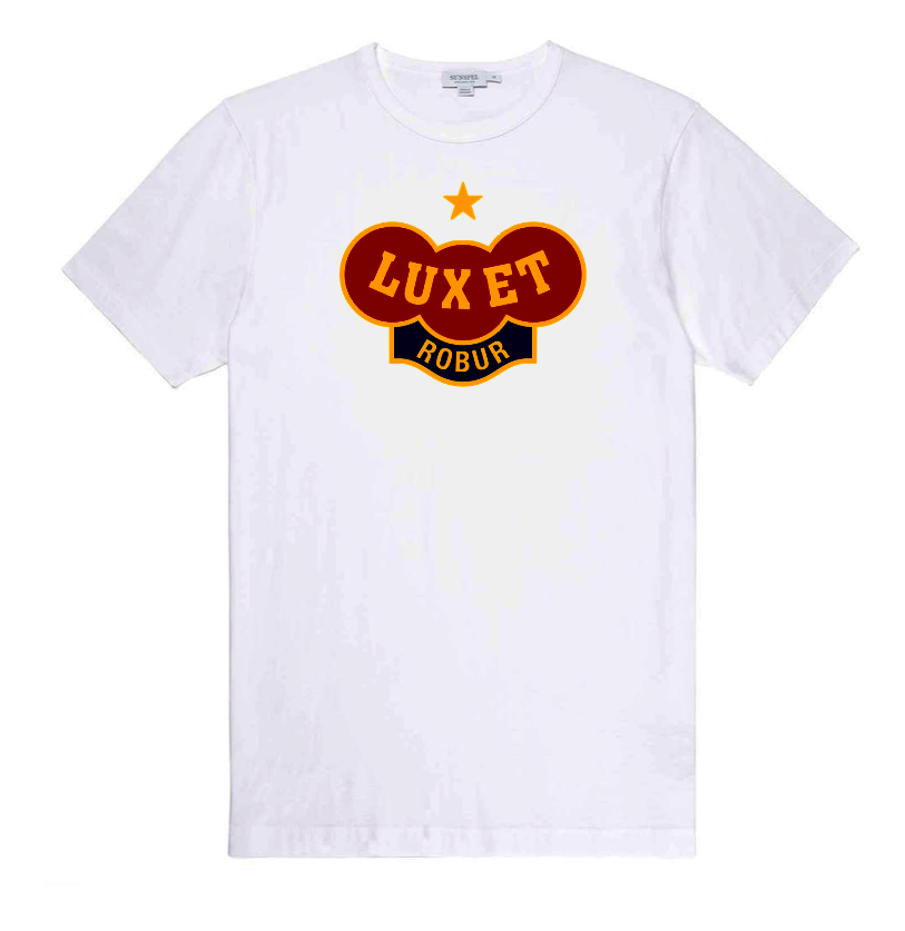 Image of Shit T-shirt, Bad Logo - White // D041