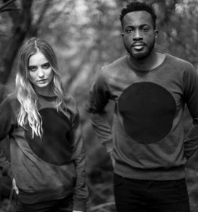 Image of GREY LABEL LUNAR RAGLAN SWEATSHIRT (HEATHER GREY)