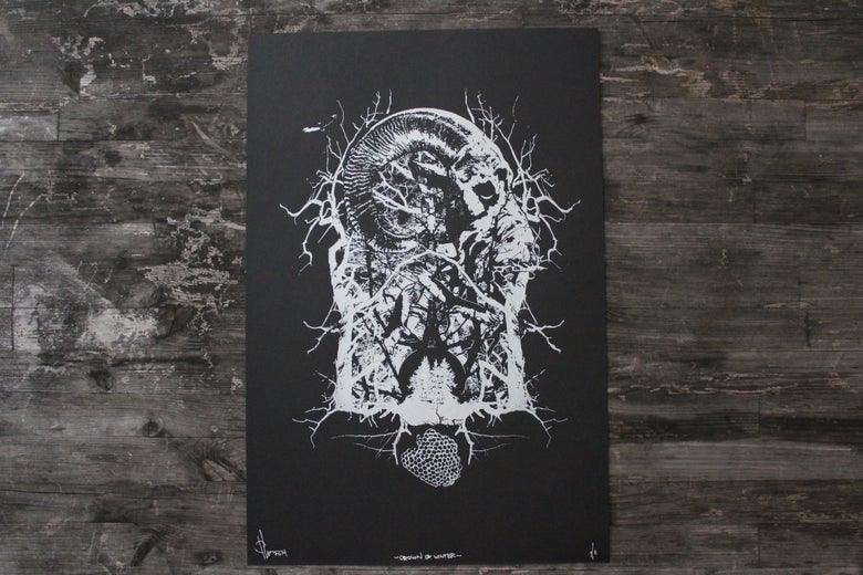 Image of Crown of Winter (screenprint)