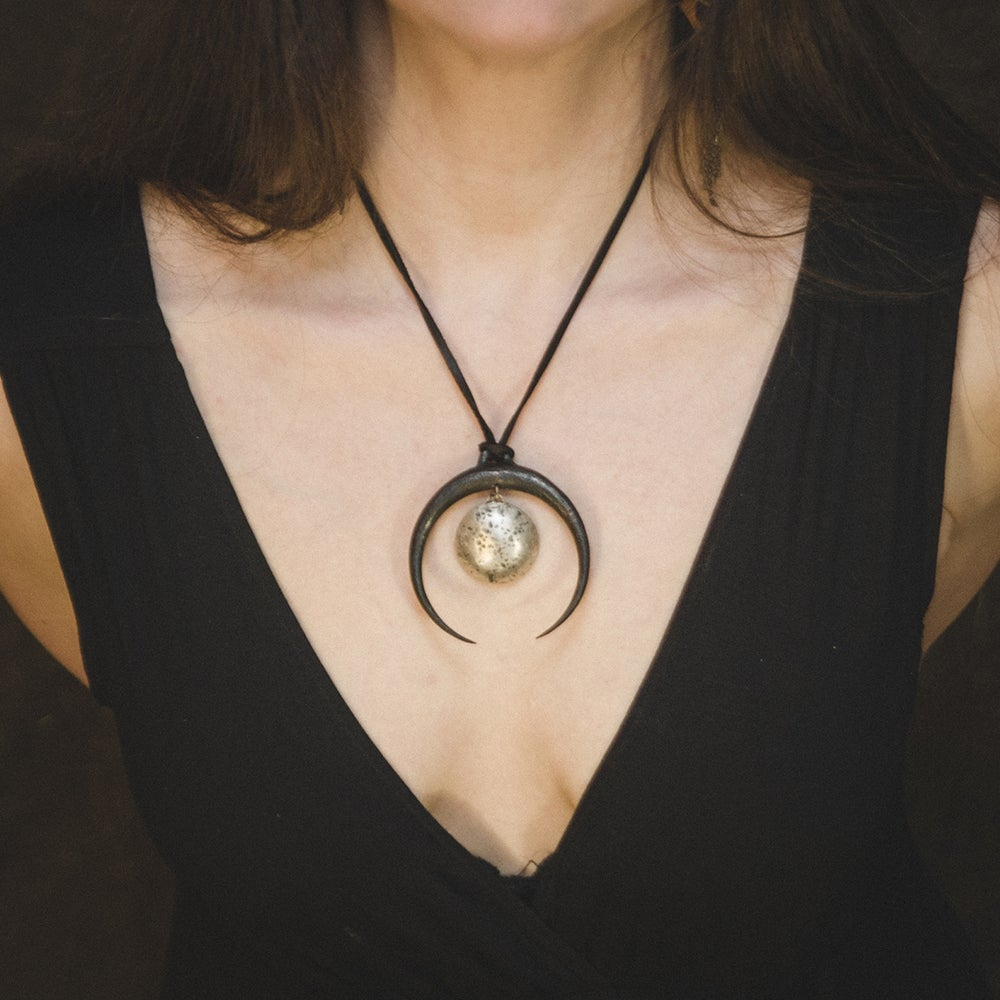 Image of Full Moon Lunitsa Pendant