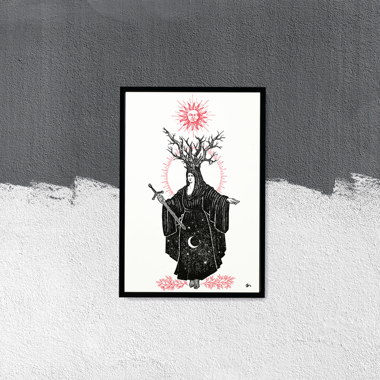 "Image of ""Virgo"", 13""x19"" Art Print"