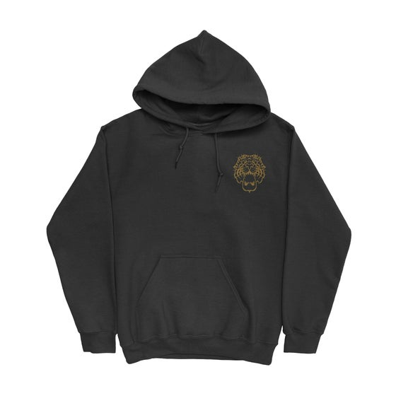 "Image of PREORDER - ""ELECTRIC TIGER TATTOO"" PULL OVER Hoodie"