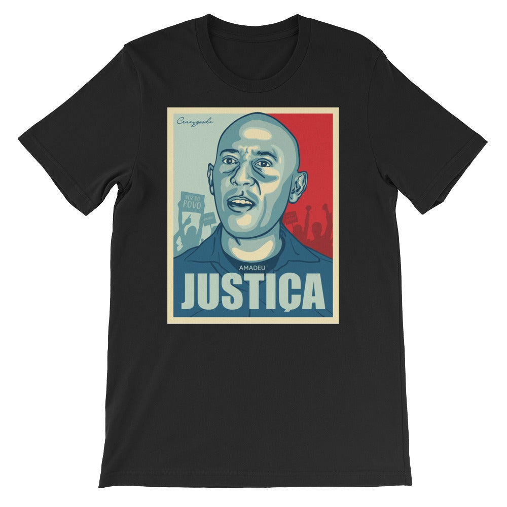 "Image of ""Viva Amadeu"" T-shirt (Black)"