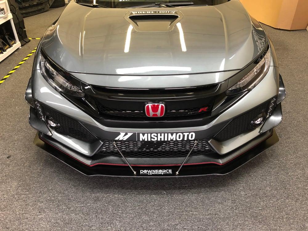 Image of 2017 - 2019 Honda Civic Type R front splitter