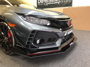 Image of 2017+ Honda Civic Type R front splitter