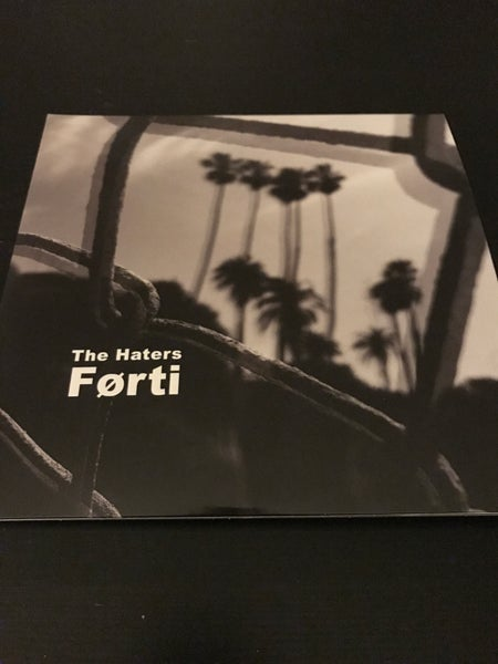 "Image of The Haters ""Forti"" STANDARD EDITION (40th Anniversary release) Double 10"" + flexi"