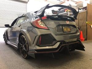 Image of 2017+ Honda Civic Type R rear Diffuser
