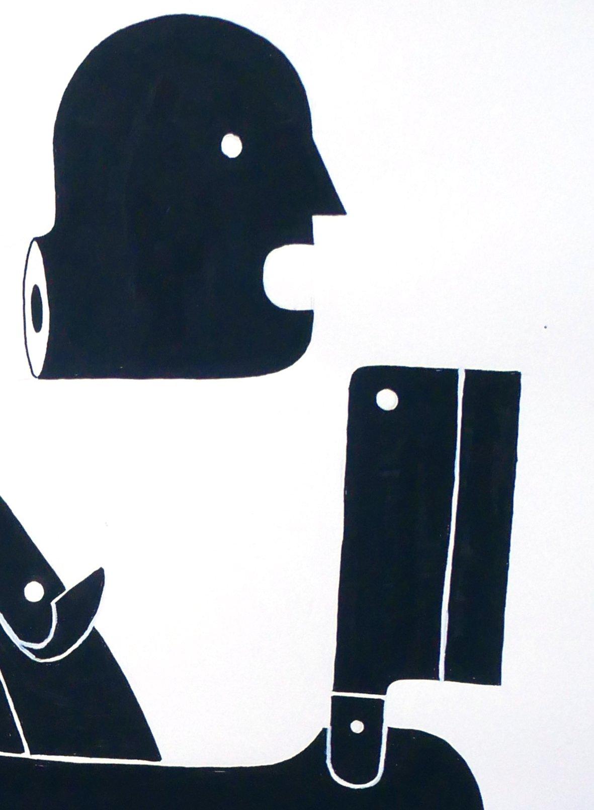 """Image of A1 """"BUTCHER"""" Original Artwork"""