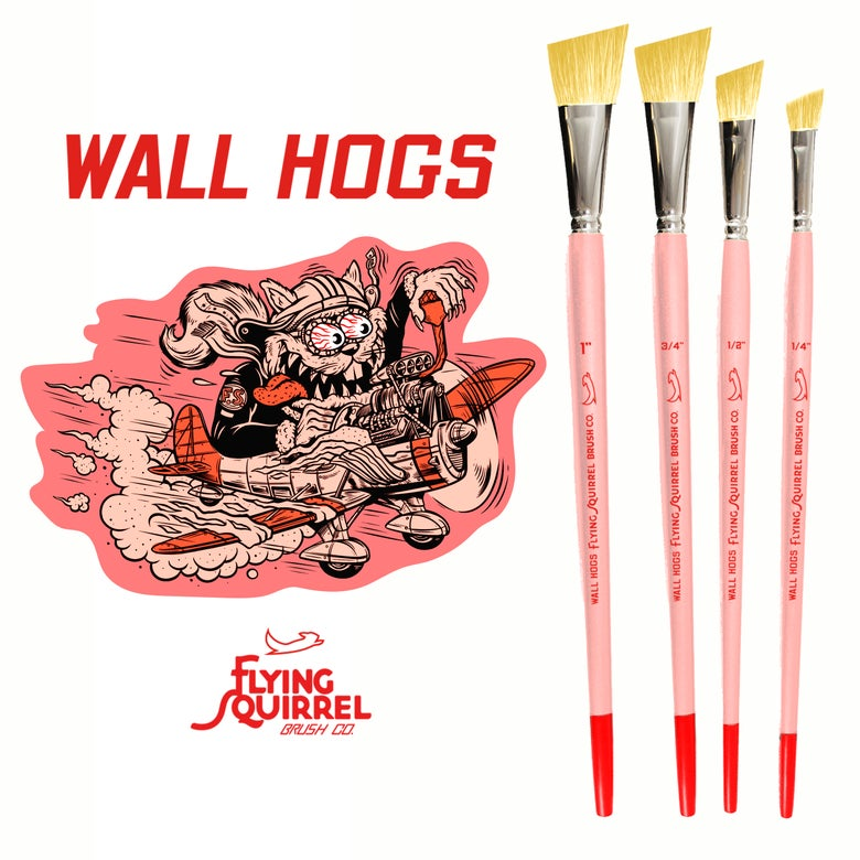 Image of Wall Hogs Brush Set
