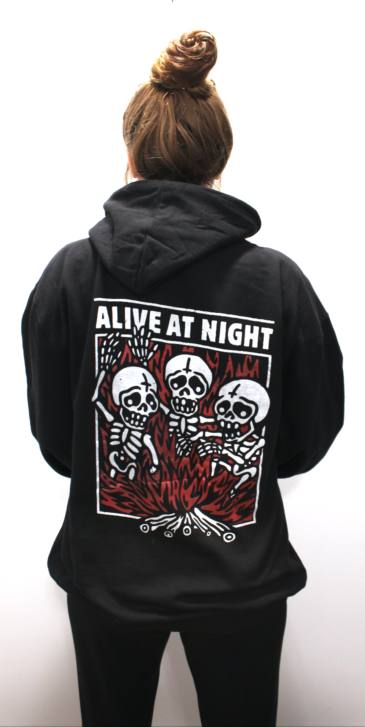Image of Fire Chant Zip up Hoodie