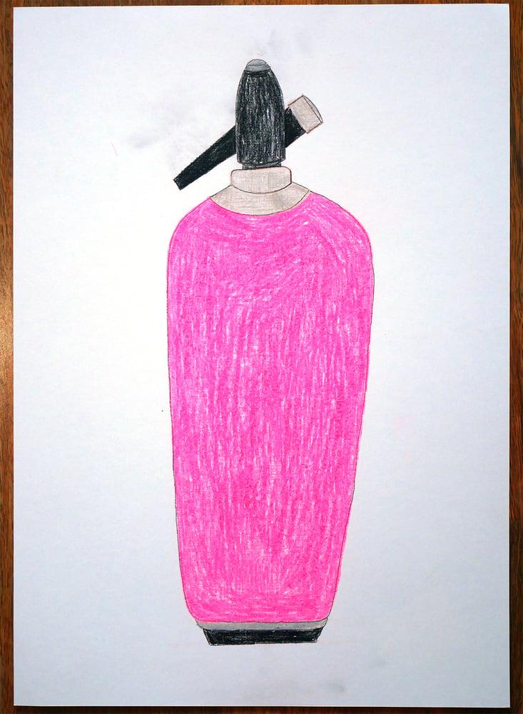 """Image of A3 """"FURO PINK NANGERNATOR"""" Original Artwork"""