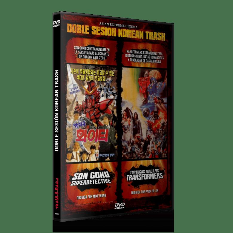 Image of Doble sesión: Son Goku Superdetective + Tortugas Ninja vs Transformers