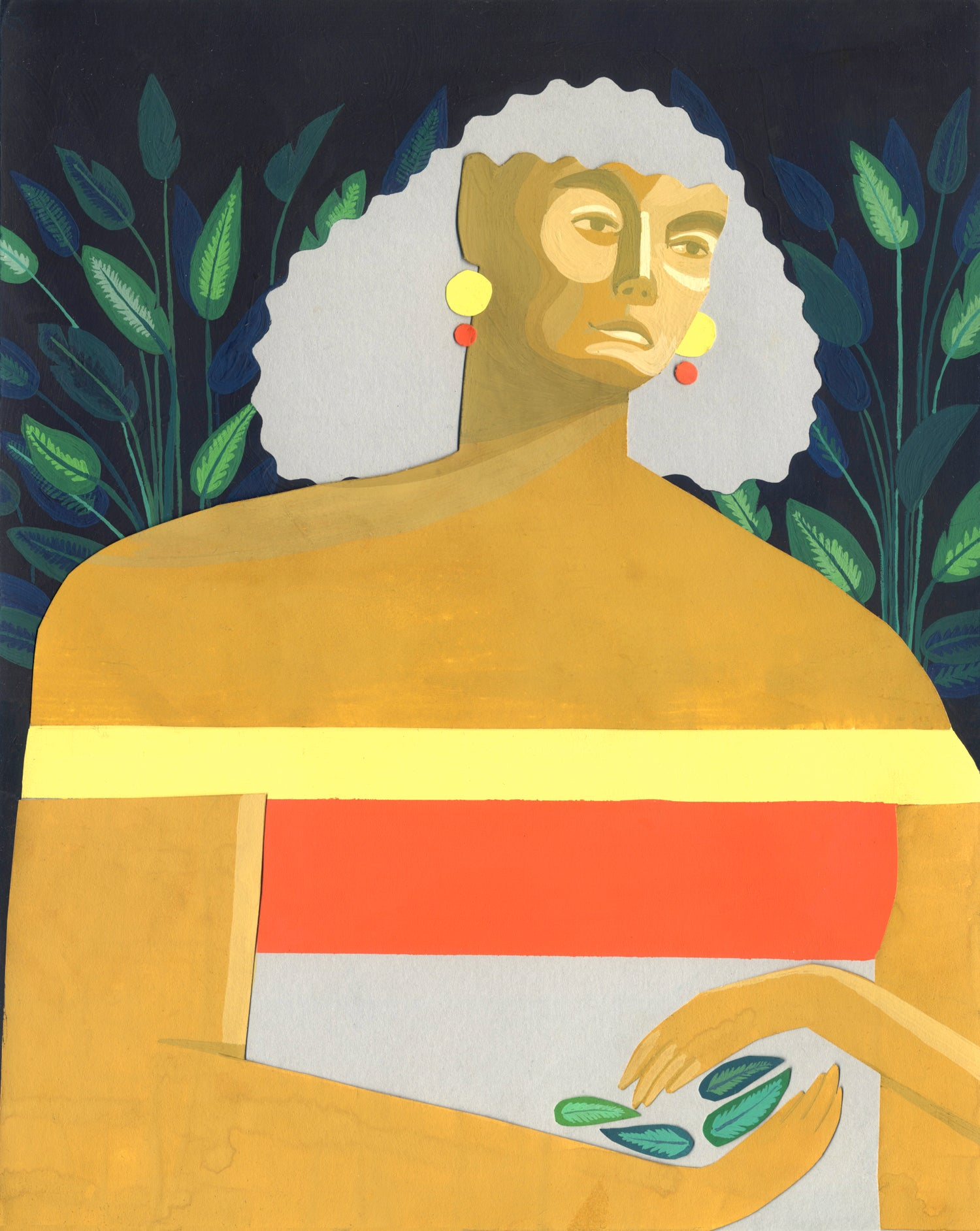 Image of 'Daphne' painting