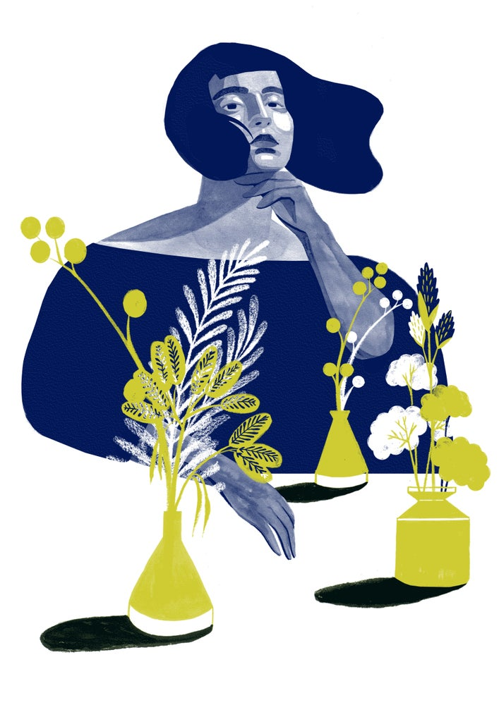 Image of 'Bloom' Riso print
