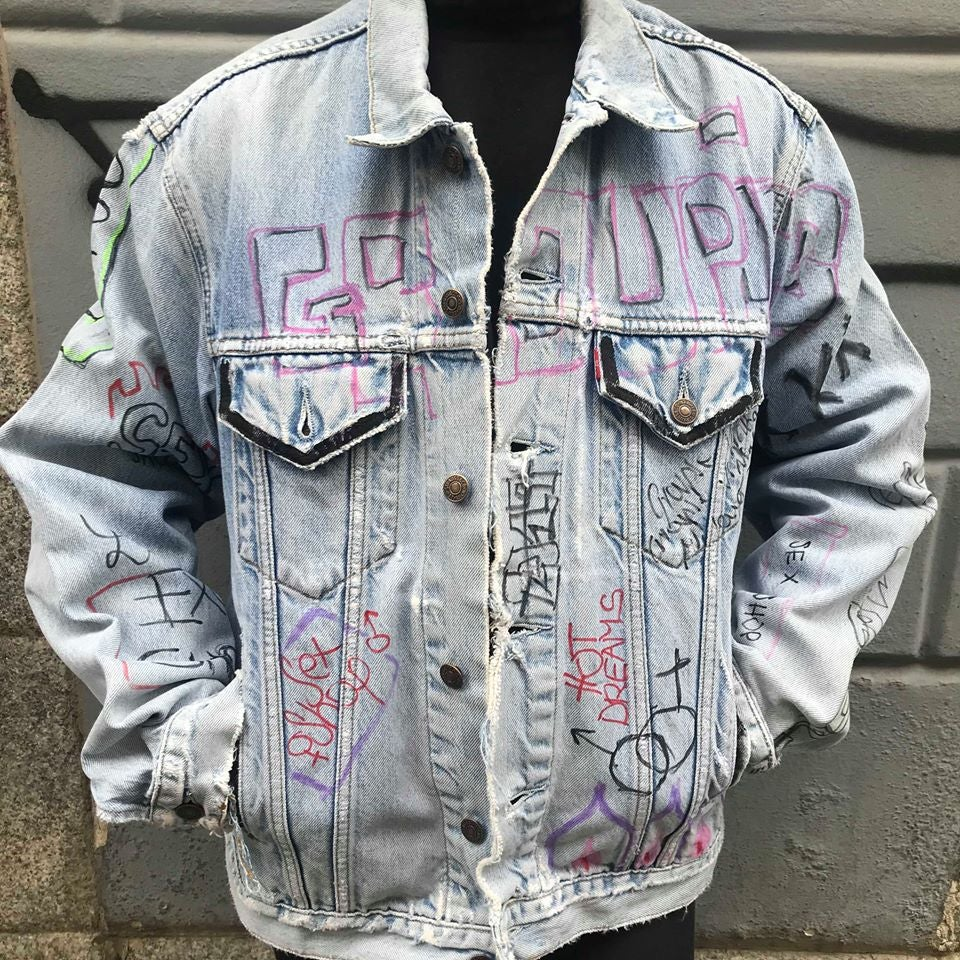 Image of MORE GROUPIES DENIM JACKET #2