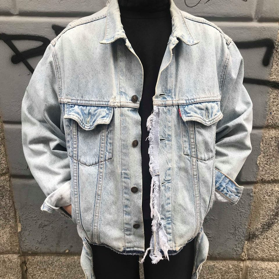 Image of THE PINK PANTHER DENIM JACKET