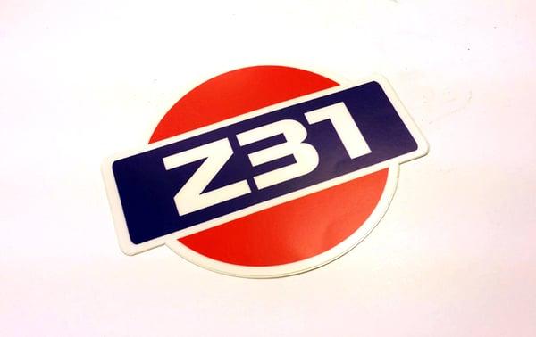 Image of Z31 Hamburger Logo Decal