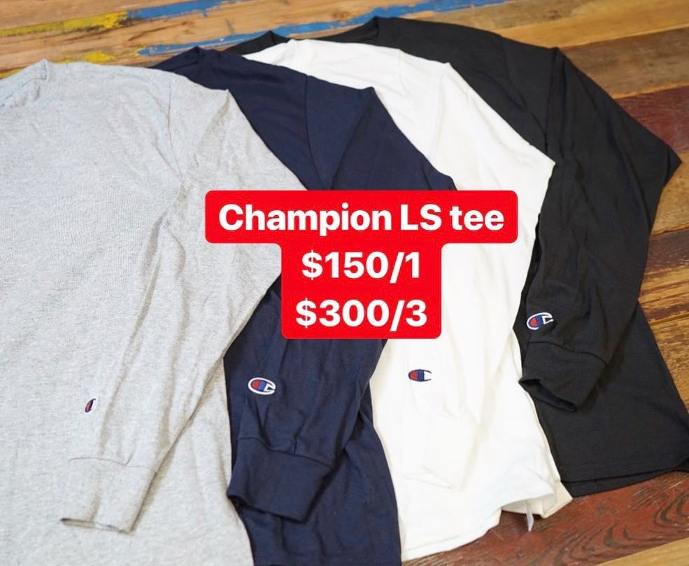 Image of Champion LS tee