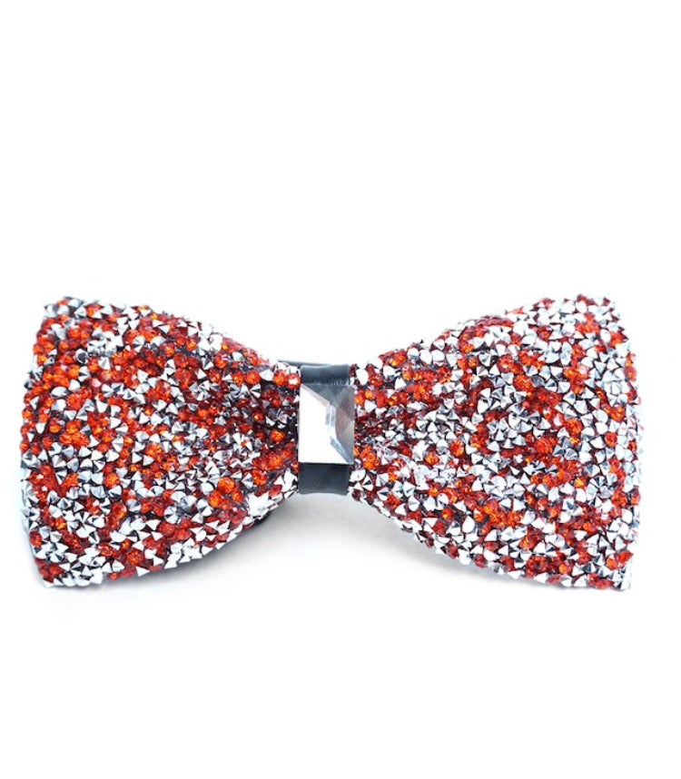 Image of Sparkling Crystal Bow tie