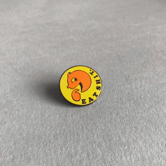 Image of SECONDS 'Eat' Pin